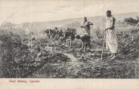 Road making, Uganda