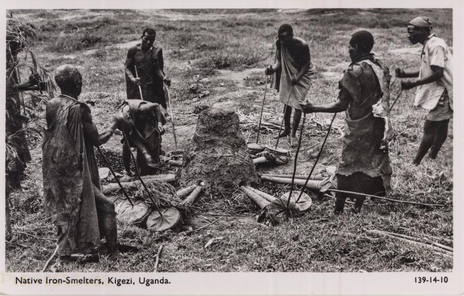 Native Iron-Smelters, Kigezi, Uganda