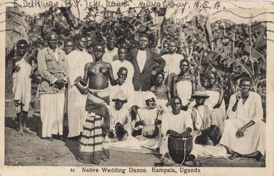 Native Wedding Dance. Kampala, Uganda
