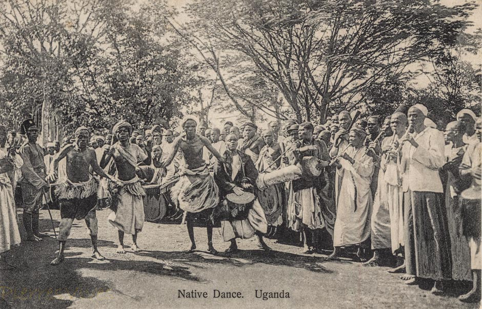 Native Dance. Uganda