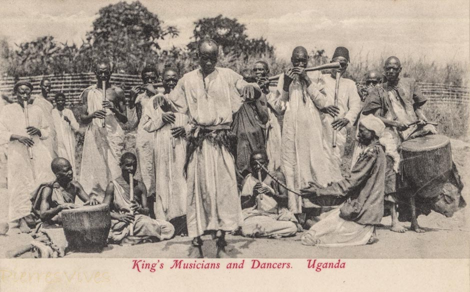 King's Musicians and Dancers. Uganda