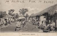 Market Scene. Uganda