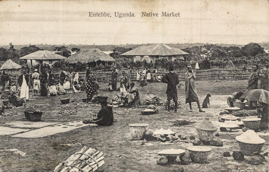 Entebbe, Uganda - Native market