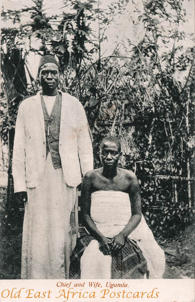Chief and Wife, Uganda