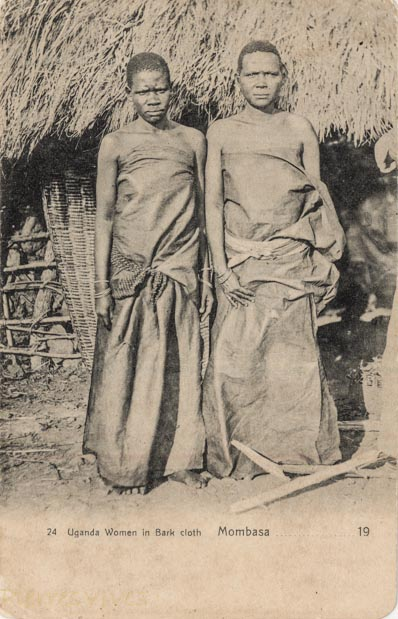 Uganda Women in Bark Cloth - Mombasa