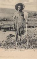 Boatsman at Victoria Nyanza Lake
