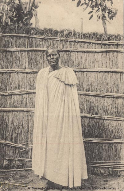 A Musoga's Dress, Uganda Protectorate