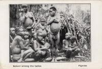 Sabuni among the ladies. Pigmies