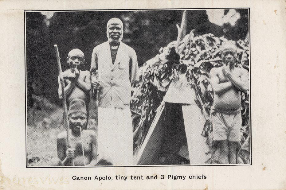 Canon Apolo, tiny tent and Pigmy chiefs