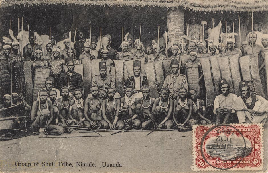 Group of Shuli Tribe. Uganda