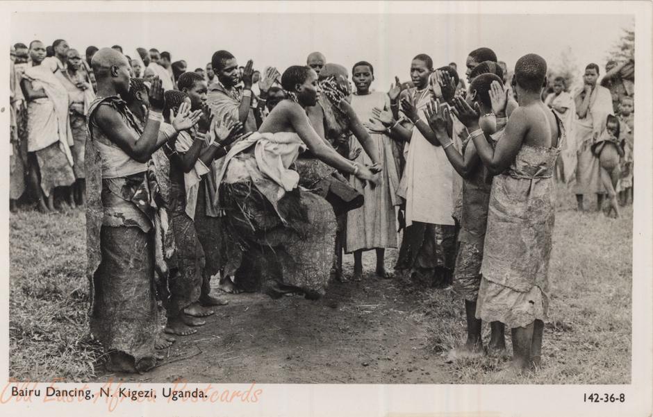 Bairu Dancing, N. Kigezi, Uganda