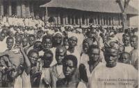 Men leaving Cathedral. Mengo. Uganda