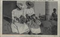 A batch of babies in Mengo Hospital, Uganda