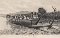 A Native Canoe, Uganda