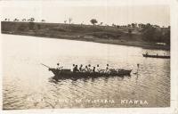 Native canoe on Victoria Nyanza