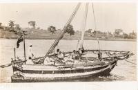 Sailing Boat or Dhow at Jinja