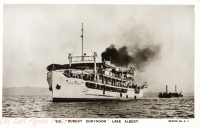 "S.S. ""Robert Coryndon"" Lake Albert"
