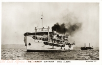 "S.S. ""Robert Coryndon"" Lake Albert"