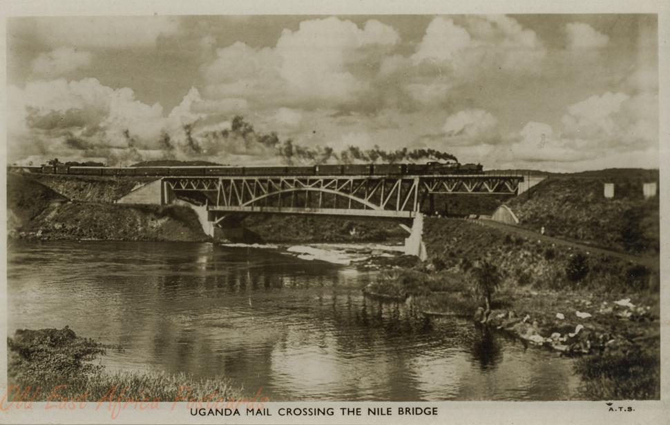 uganda old east africa postcards
