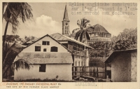 Zanzibar, the English Cathedral built on the Site of the Former Slave Market
