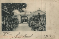 Zanzibar (entrance of Victoria Garden)