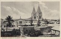 Zanzibar. Exterior of St.Joseph Cathedral