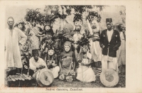 Native dancers, Zanzibar