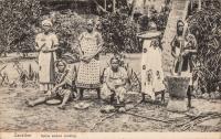 Native Women cooking