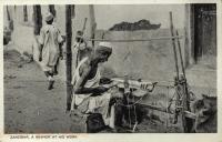 Zanzibar, a Weaver at his Work