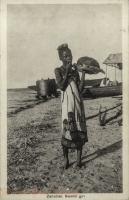 Zanzibar, Swahili Girl