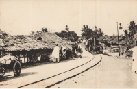 Nil (Train through a village)