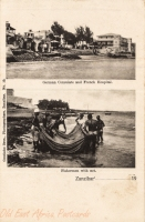 German Consulate and French Hospital + Fishermen with net