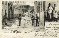 nil (Guard in front of bombed Palace + 2 men)