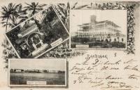 Sultansgarten + Sultanspalast + Ansicht auf Zanzibar