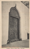 Sultan s Throne Room Door, Zanzibar