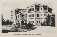 The Regent's Castle front view. Zanzibar
