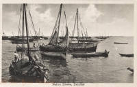 Native Dhows, Zanzibar
