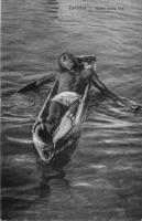 Zanzibar Native diving boy