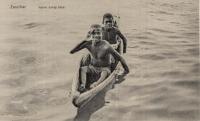Native diving boys