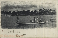 A Native Canoe