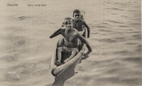 Native diving boys