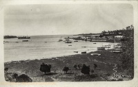 A view of the landing stage