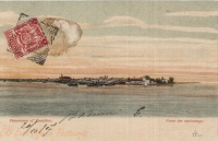 Panorama of Zanzibar - From the anchorage