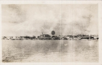 nil (Zanzibar, general view of town)