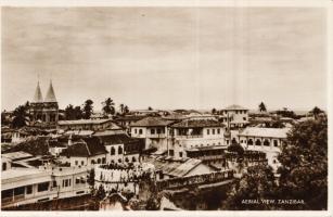 Aerial view, Zanzibar
