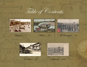 M Table of contents