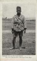 Ali, Col.Roosevelt s devoted Tent Boy