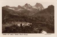 Camp at Hali Tahu (Mount Kenya)