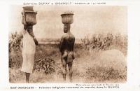 Femmes indigènes revenant du marché