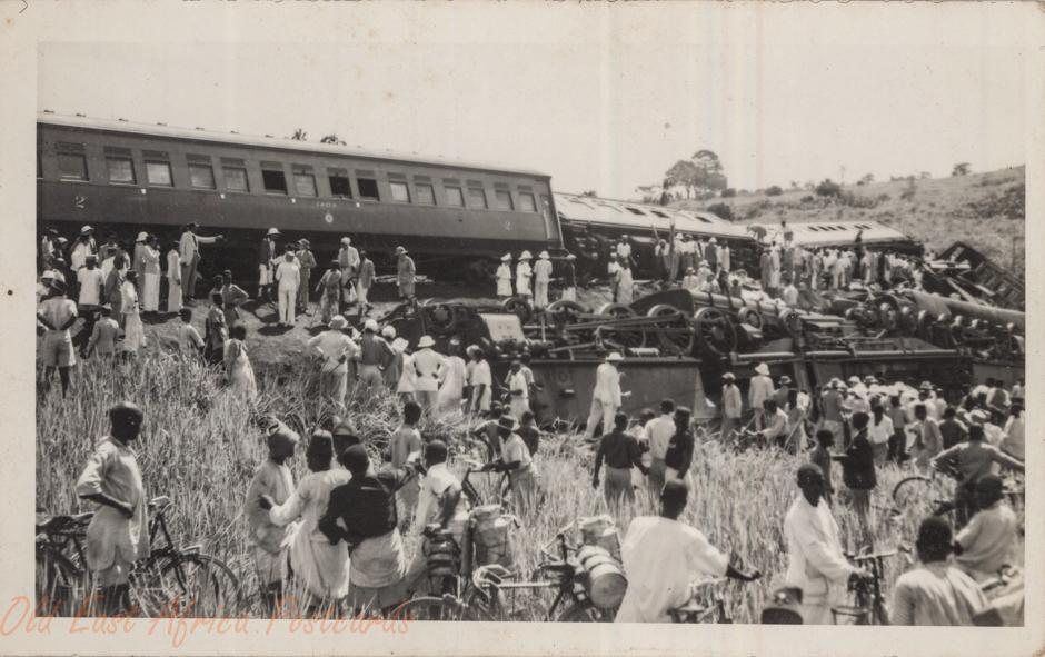 Train accident (closer)